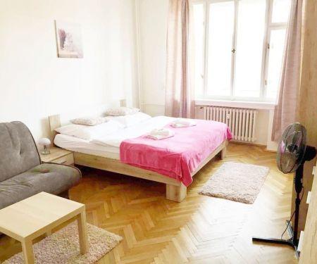 Byt k pronájmu - Praha 8 - Karlín, 1+kk