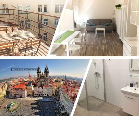 Byt k pronájmu - Praha 1 - Staré Město, 1+kk