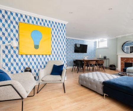 Flat for rent  - Londýn-Kensington a Chelsea - South Kensington, 6+kk a väčší