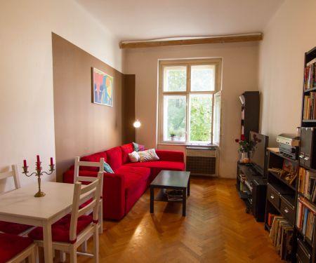 Byt k pronájmu - Praha 3 - Žižkov, 2+1