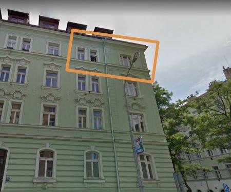 Byt k pronájmu - Praha 3 - Žižkov, 4+1