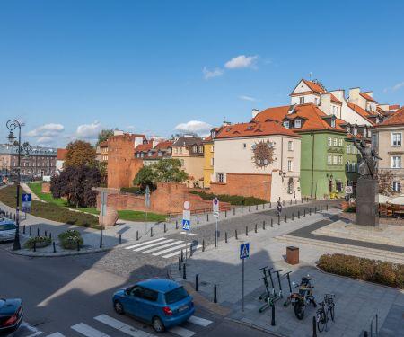 Byt k pronájmu - Varšava-Śródmieście, 3+kk